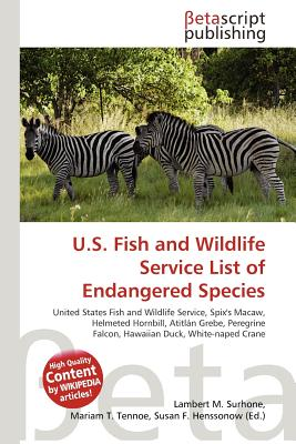 U.S. Fish and Wildlife Service List of Endangered Species